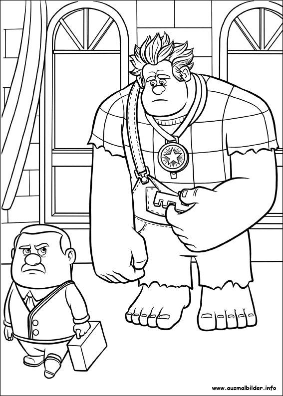 Ralph reichts malvorlagen