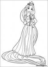 Ausmalbilder Von Rapunzel Zum Drucken Ausmalbilderhq