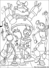 Ausmalbilder von Robots zum Drucken