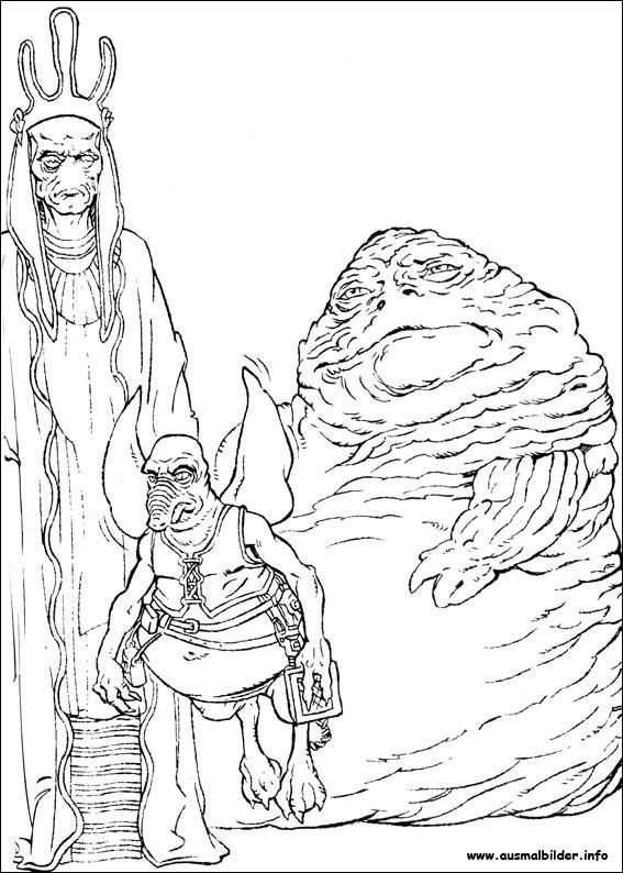 Star Wars malvorlagen