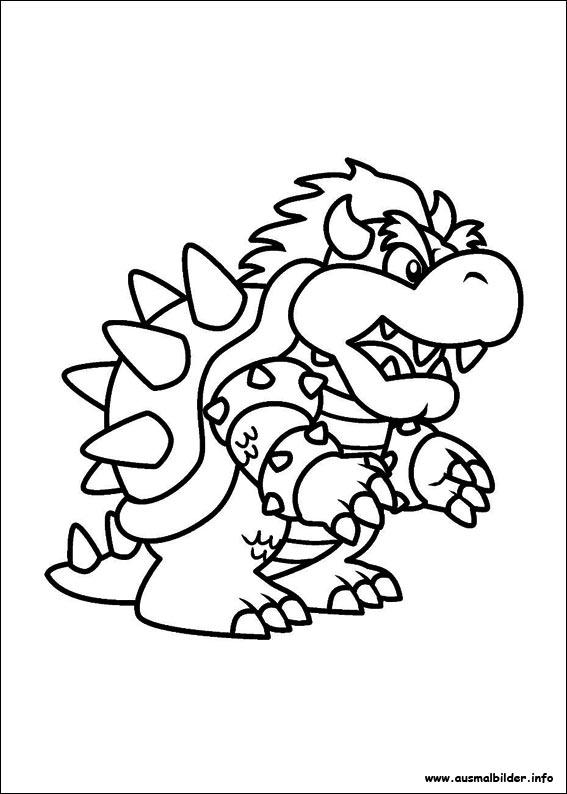 Ausmalbilder Mario Kart 8 Image Gallery