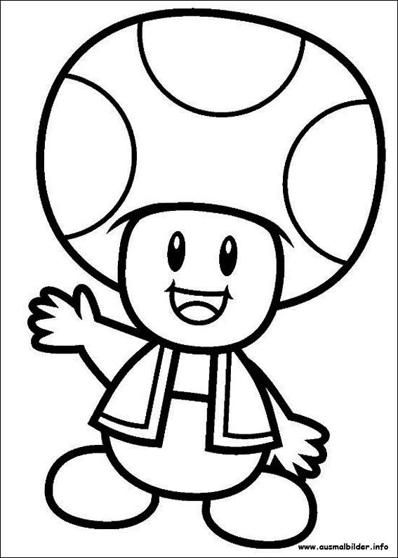 Malvorlagen Zeichnen Ausmalbilder Mario