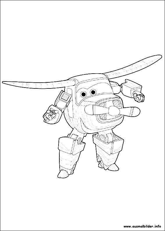 super wings malvorlagen