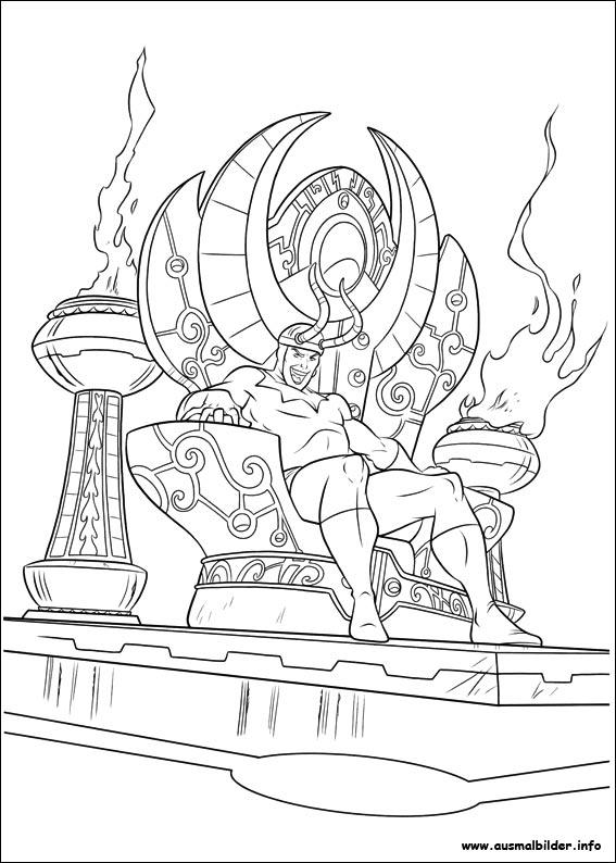 Ausmalbilder von Thor zum Drucken