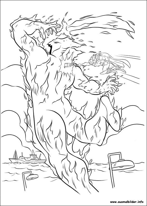 Thor malvorlagen