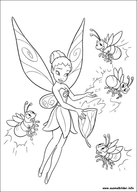 Wellcome To Image Archive Ausmalbilder Tinkerbell