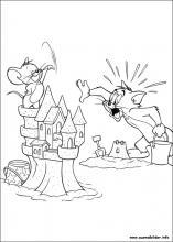 Ausmalbilder Von Tom Und Jerry Zum Drucken