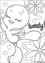 Ausmalbilder von Tweety zum Drucken