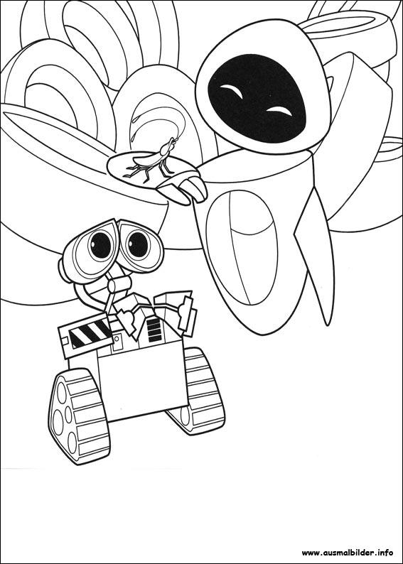 Wall-E malvorlagen
