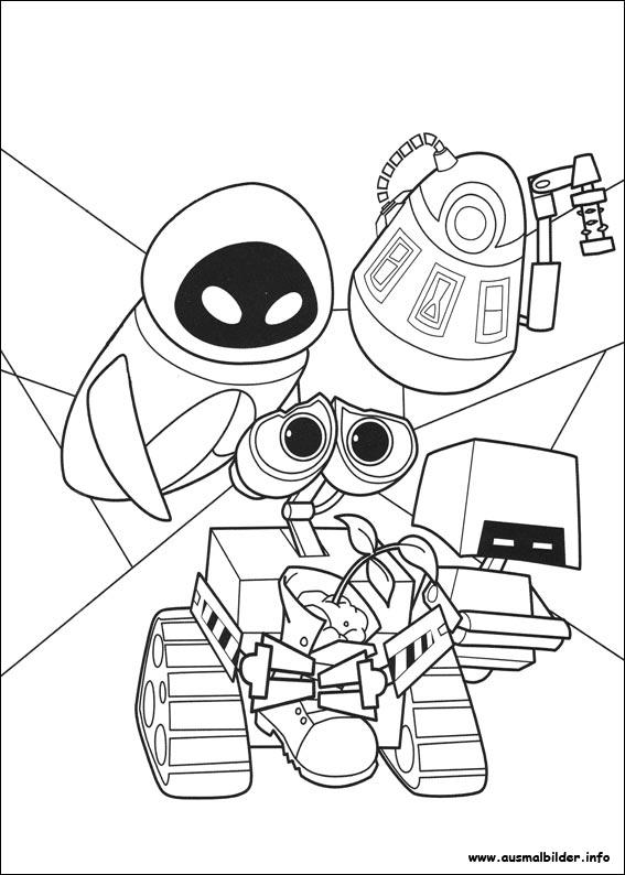 Wall-E Malvorlagen | heimhifi.com