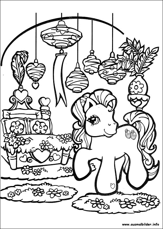 Coloriage my little pony christmas page 2