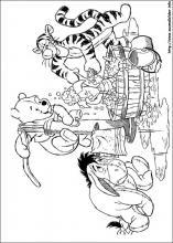 Ausmalbilder von Winnie Puuh zum Drucken