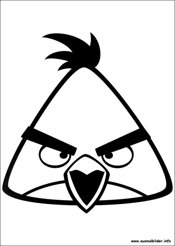 Angry Birds Malvorlagen