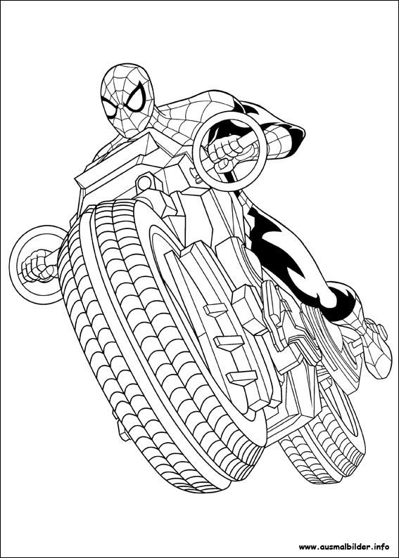 der ultimative spider-man malvorlagen