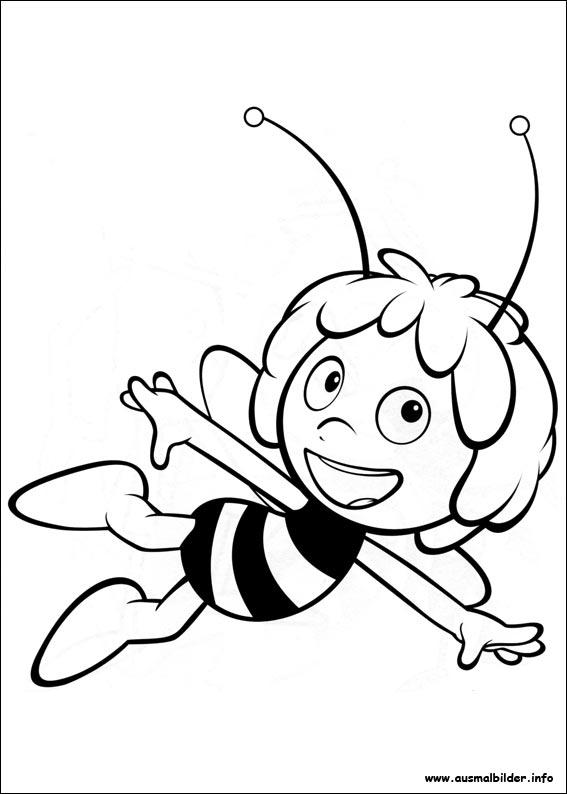 Die Biene Maja Malvorlagen