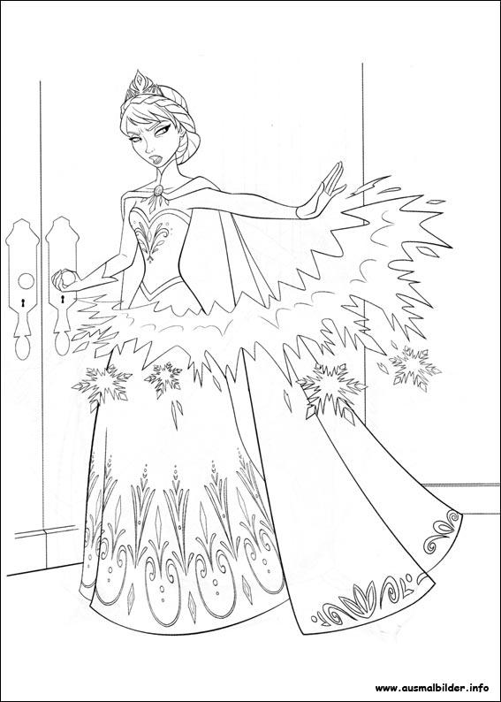 die eiskönigin  völlig unverfroren malvorlagen