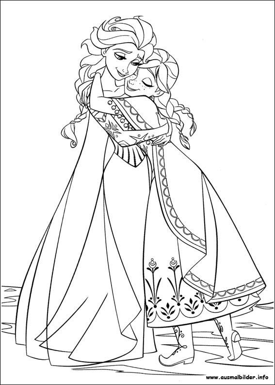 die eiskönigin - völlig unverfroren malvorlagen
