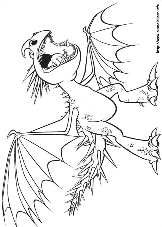 ausmalbilder drachen  malvorlagen zeichnen