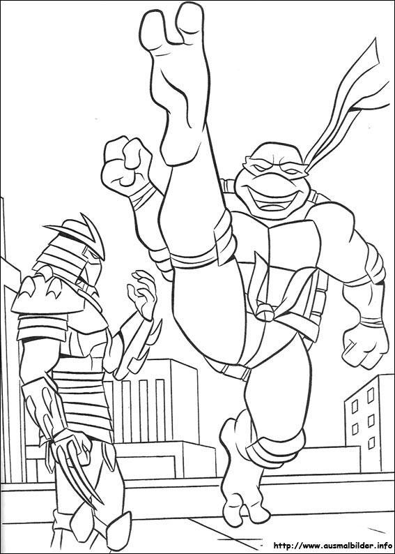 ninja turtles malvorlagen