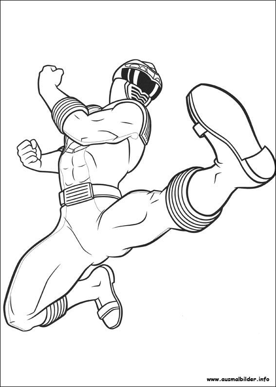 Power Rangers Malvorlagen