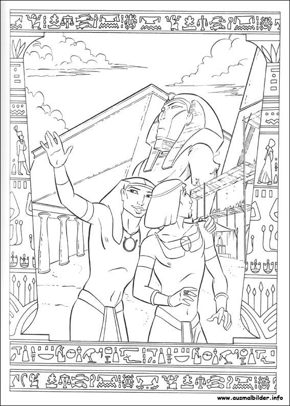 ausmalbilder ägypten  ausmalbilder coloring pages