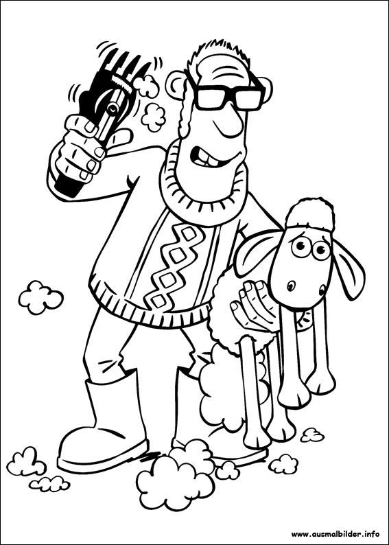 Shaun Das Schaf Malvorlagen