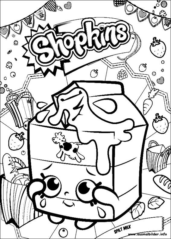 Shopkins Malvorlagen