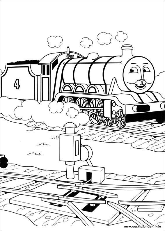 Thomas Und Seine Freunde Malvorlagen