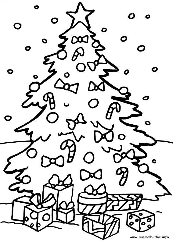 ausmalbilder weihnachten  malvorlagen zeichnen