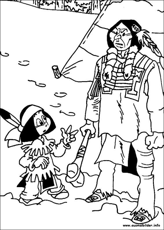 yakari malvorlagen