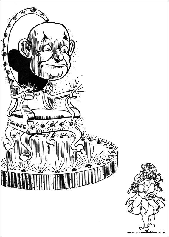 Der Zauberer Von Oz Malvorlagen